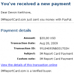 Payment Proof 2
